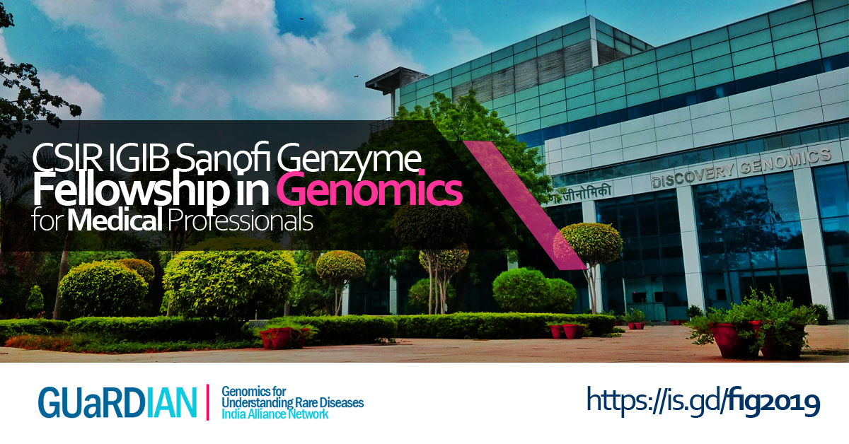 Events & Courses - Rare Disease Genomics India - GUaRDIAN | Genomics